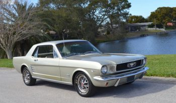 Ford Mustang Coupe BJ 1966 Silber full