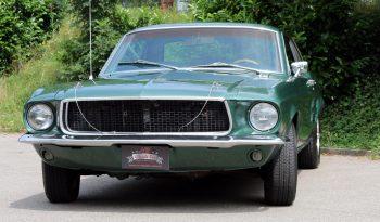 Ford Mustang Coupe 1967 Bullit-Grün 289 V8