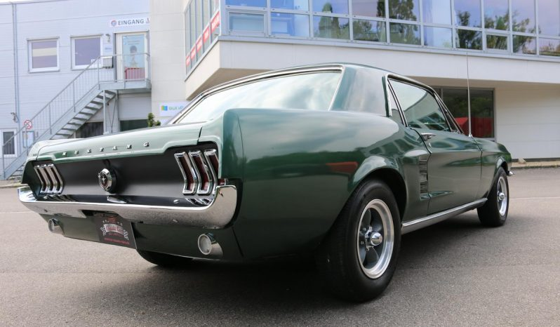 Ford Mustang Coupe 1967 Bullit-Grün 289 V8 voll