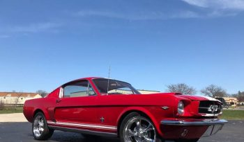 Ford Mustang Fastback 289 BJ 1965 rot/weiss full