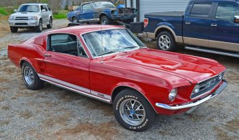 Ford Mustang Fastback GTA 390 BJ 1967 rot-schwarz full