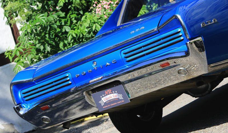 Pontiac GTO 1966 blau voll