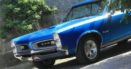 Pontiac GTO 1966 blau