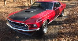 Ford Mustang 1969 Mach 1 rot