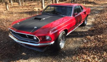Ford Mustang 1969 Mach 1 rot voll