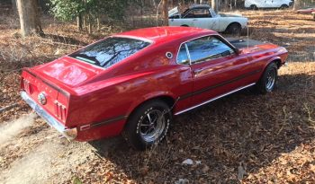 Ford Mustang 1969 Mach 1 rot full