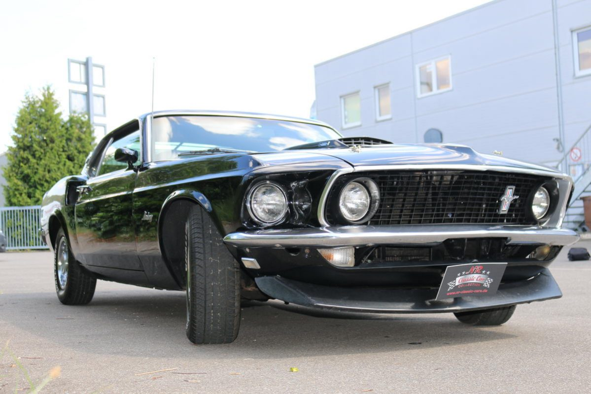 Ford Mustang 1969 Fastback Schwarz Nr Classic Car Collection Mach 1 Voll