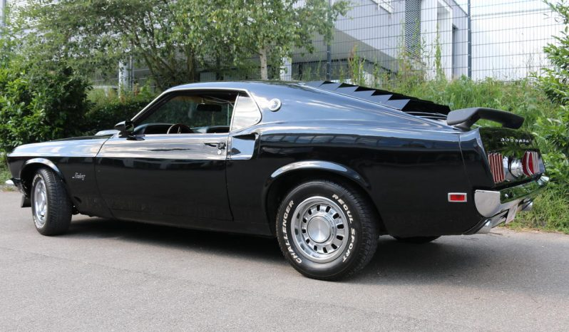 Ford Mustang 1969 Fastback schwarz voll