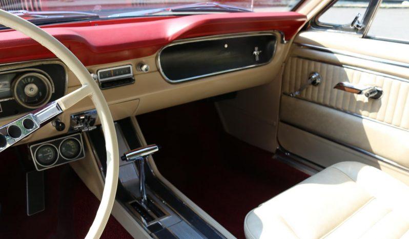 Ford Mustang Cabrio BJ 1965 aussen Rot innen Beige full