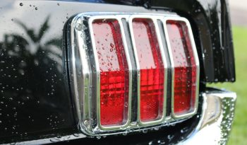 Ford Mustang 1966 Coupe Elvira schwarz voll
