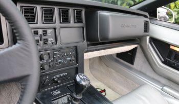 Chevrolet Corvette C4 1987 weiss voll