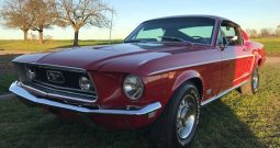 Ford Mustang 390 GT, BJ 1968 Rot