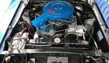 Ford Mustang Mach 1 Baujahr 1969 Blau-Schwarz full
