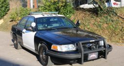 Ford Crown Victoria US Police Car, BJ 2010