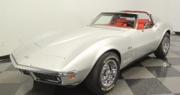 Chevrolet Corvette Stingray BJ 1969 Silber