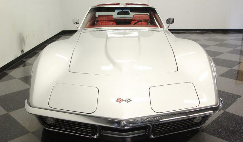 Chevrolet Corvette Stingray BJ 1969 Silber voll