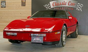 Chevrolet Corvette C4 BJ 1985 Targa Rot