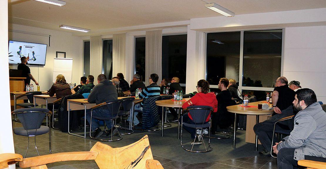 Oldtimer-Akademie am 16.03.2019 mit ca. 20 Teilnehmer