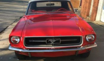 Ford Mustang 1967 Convertible Rot