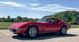 Chevrolet Corvette C3 BJ 1968 Rot