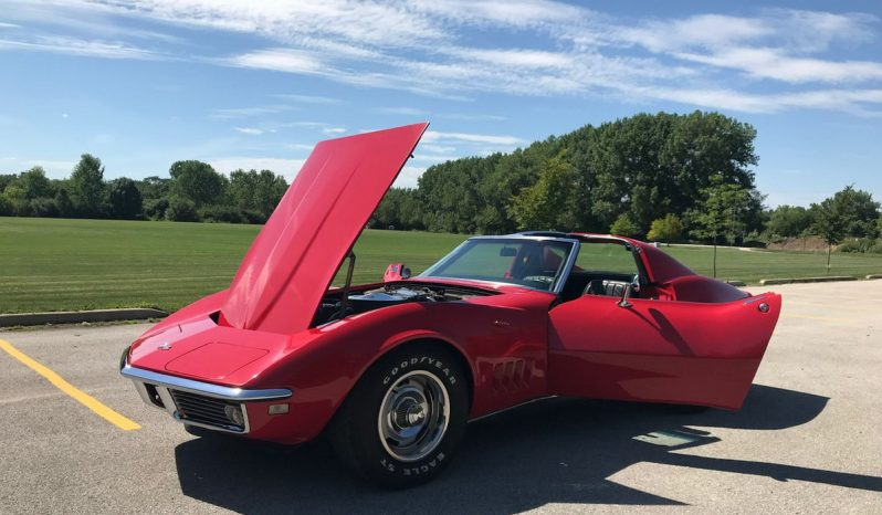 Chevrolet Corvette C3 BJ 1968 Rot full