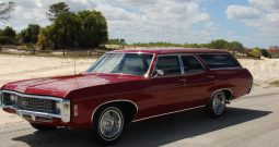 Chevrolet Kingswood Wagon BJ 1969 Rot
