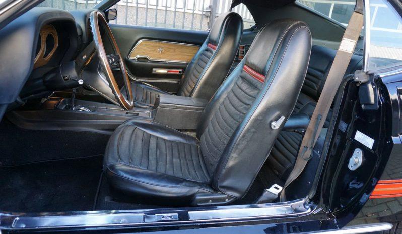 Ford Mustang Mach 1 Fastback BJ 1969 Schwarz voll
