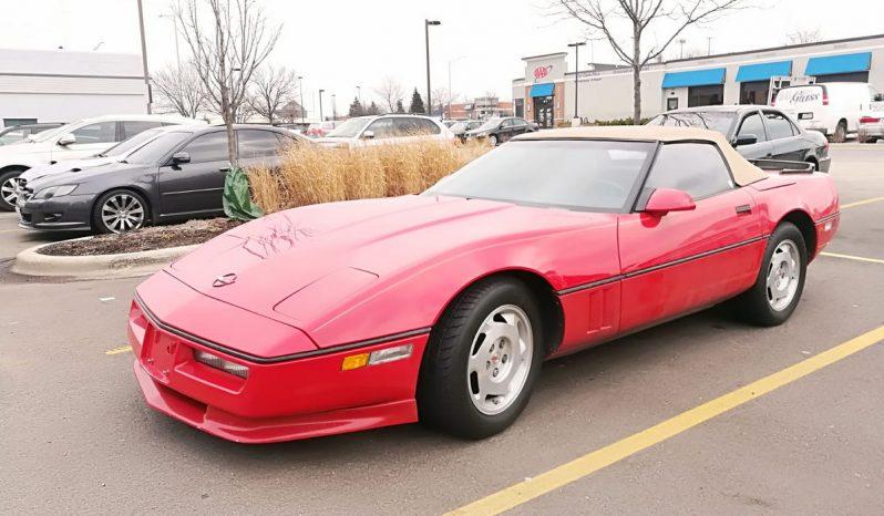 Chevrolet Corvette C4 BJ 1987 Rot voll