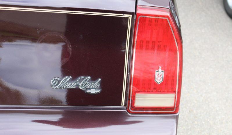 Chevrolet Monte Carlo LS CL 5.0 BJ 1987 voll