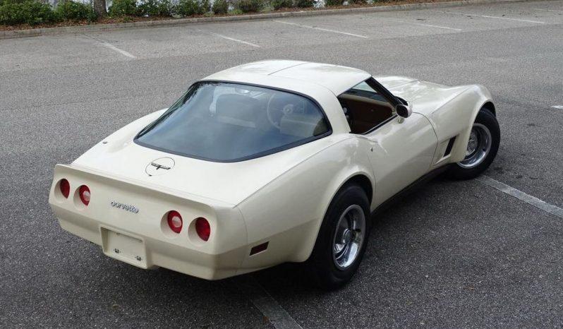 Chevrolet Corvette C3 BJ 1981 beige voll