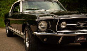 Ford Mustang GT 390 Cabrio BJ 1967 schwarz voll