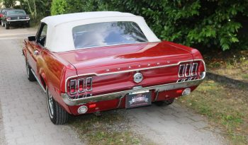 Ford Mustang 1967 Convertible Rot Consignment voll