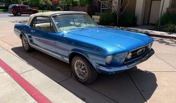Ford Mustang Convertible BJ 1968 Blau/Beige voll