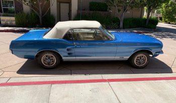 Ford Mustang Cabrio Baujahr 1967 blau/beige voll