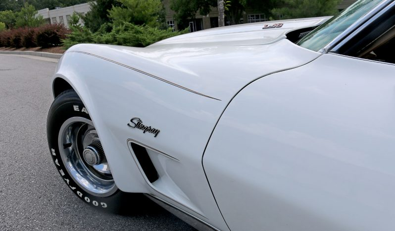 Corvette C3 BJ 1973 Chrome Bumper weiß voll