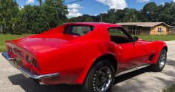 Chevrolet Corvette C3 Stingray BJ 1973 rot/schwarz
