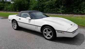 Chevrolet Corvette C4 Cabrio Baujahr 1987 weiss voll