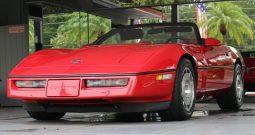 Chevrolet Corvette C4 BJ 1987 Cabrio Rot/Rot