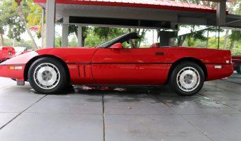 Chevrolet Corvette C4 BJ 1987 Cabrio Rot/Rot voll