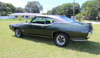 Pontiac GTO BJ 1969 dunkelgrün voll