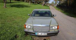 1981 Mercedes Benz 380SE W126