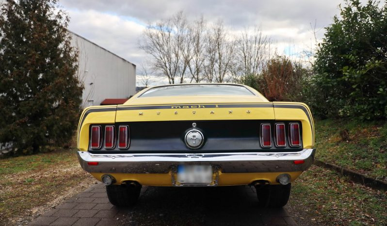 Ford Mustang Mach 1 Baujahr 1969 voll