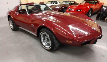1975 Chevrolet Corvette C3 rot voll