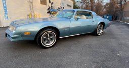 1976 Pontiac Firebird Baby Blue