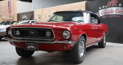 1968 Ford Mustang convertible 302 red