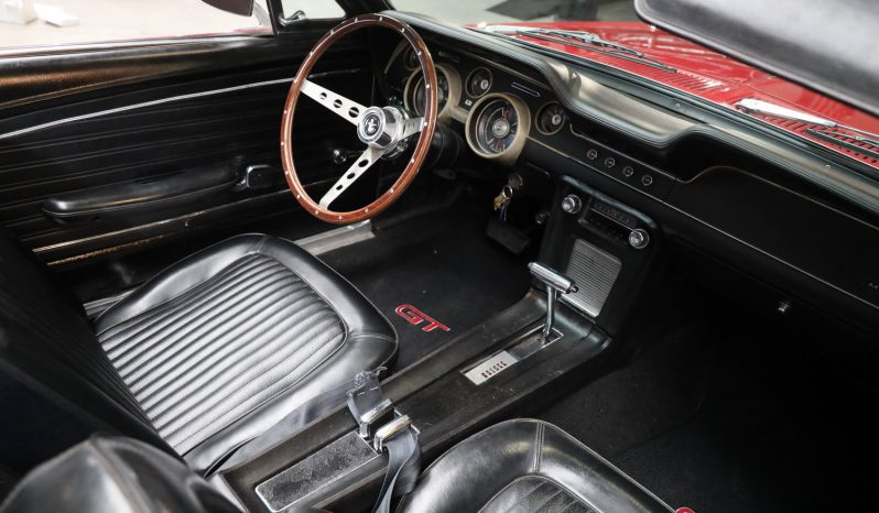1968 Ford Mustang convertible 302 red voll