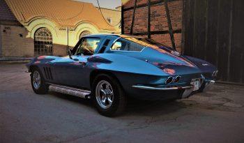 1965 Chrevrolet Corvette C2 327 Nassaublue voll