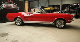1967 Ford Mustang Double Red