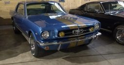 1965 Ford Mustang Blau/Gold