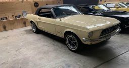1968 Ford Mustang Convertible Meadolark Yellow